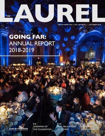 taniej zawsze popularny na sprzedaż online Annual Report 2019 by Phi Kappa Tau - issuu