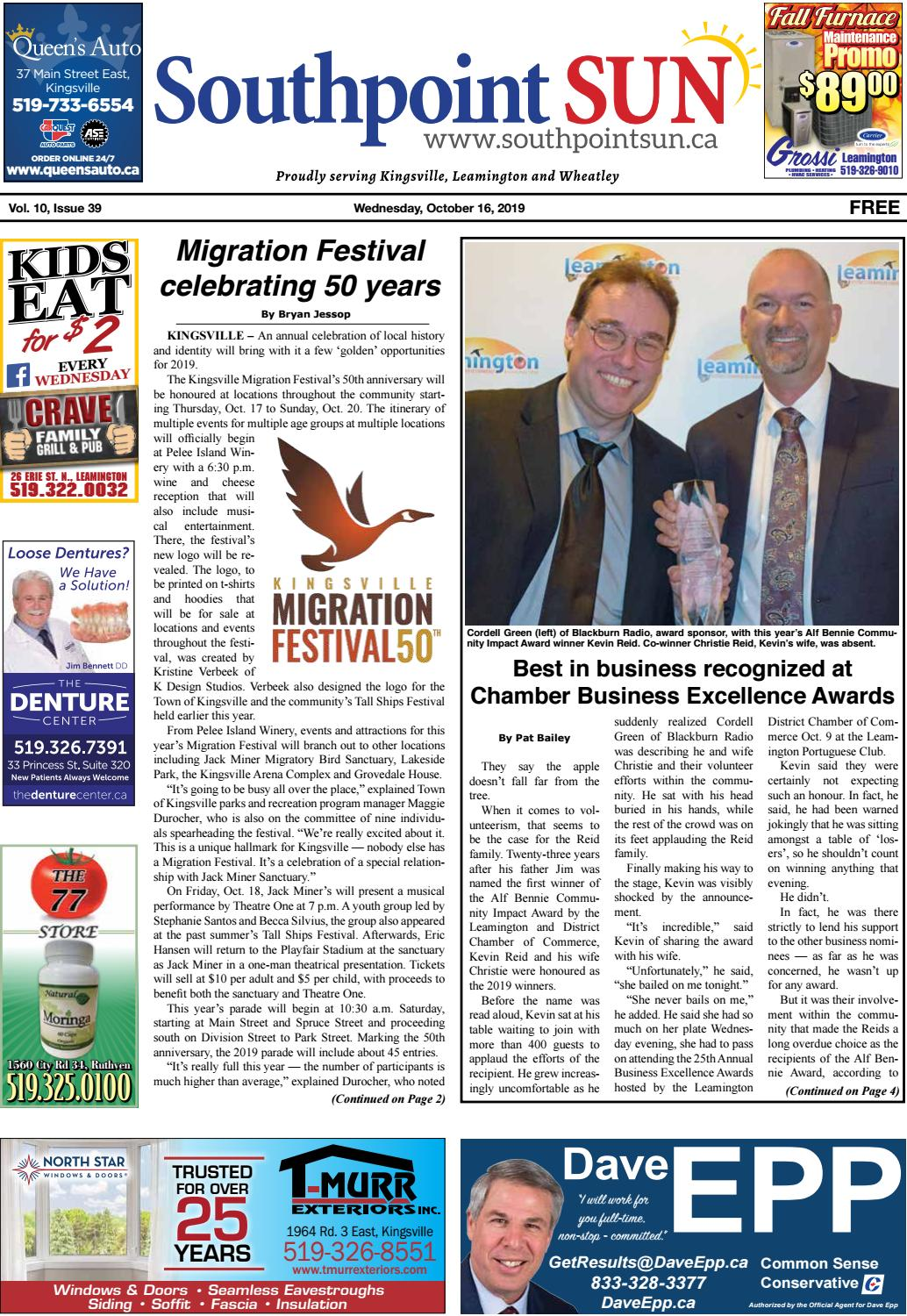 Southpoint Sun October 16 2019 By Southpoint Sun Issuu