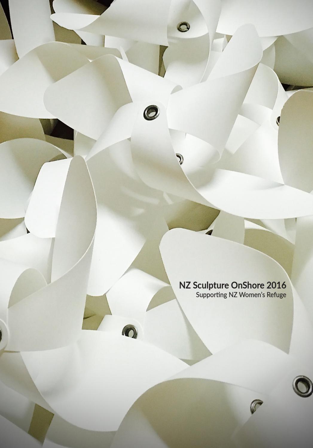 Nz Sculpture Onshore Catalogue 2016 By Benefitz Issuu