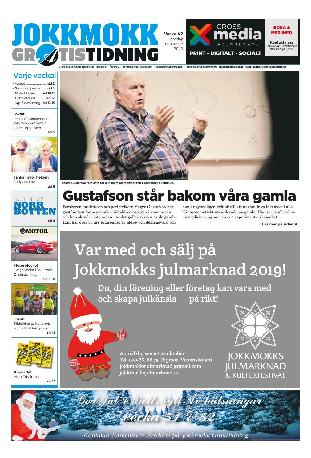 Gustafson str bakom vra gamla - Jokkmokks Kommun