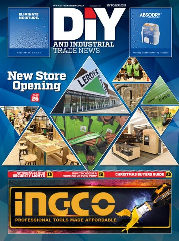 Diy And Industrial Trade News October 2019 By New Media