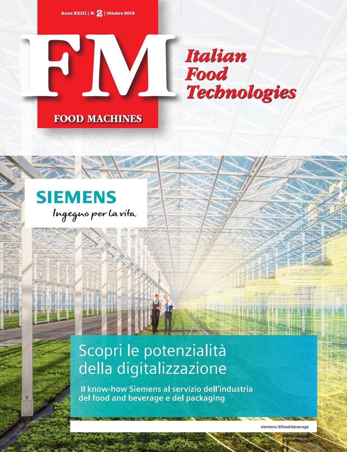 Automazione E Sicurezza Gorgonzola food machines n.2 - ottobre 2019 by innovative press srl - issuu