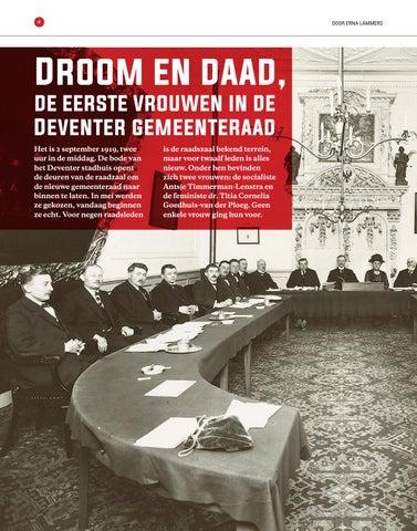 Page 4 of Droom en Daad. De eerste vrouwen in de Deventer gemeenteraad