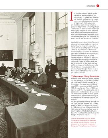 Page 5 of Droom en Daad. De eerste vrouwen in de Deventer gemeenteraad