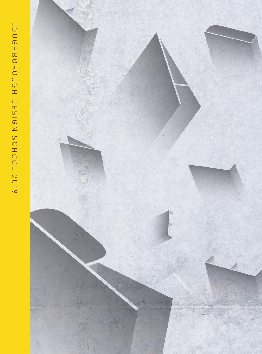 Design Degree Show 2019 By Loughborough University Issuu