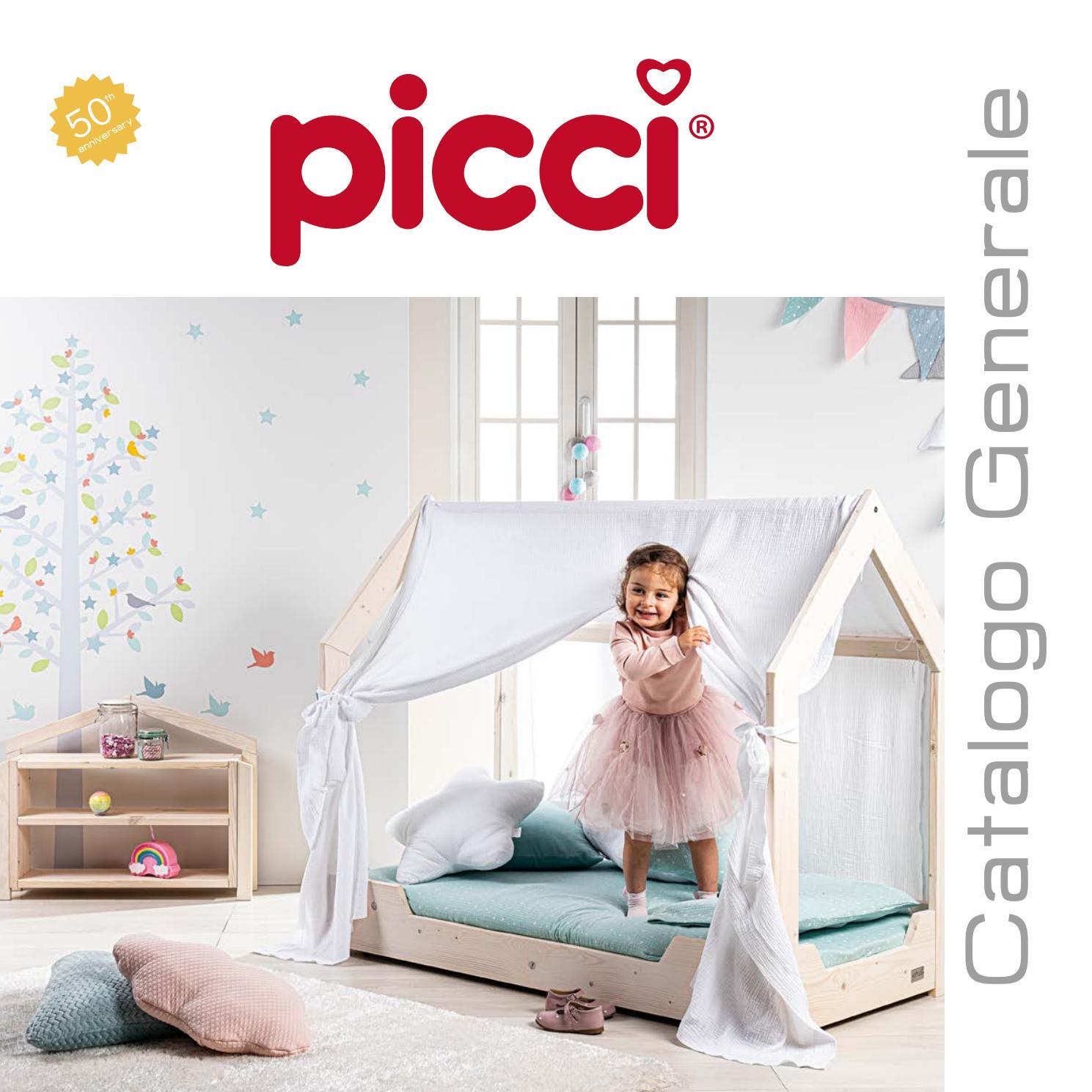 Materassino double face per Passeggini e Ovetti Picci Cod 1050-Panna