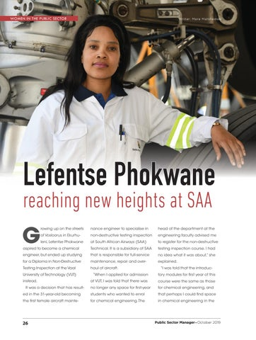 Page 28 of Lefentse Phokwane reaching new heights at SAA
