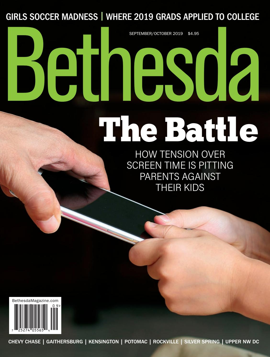Bethesda Magazine September October 2019 By Bethesda Magazine Issuu