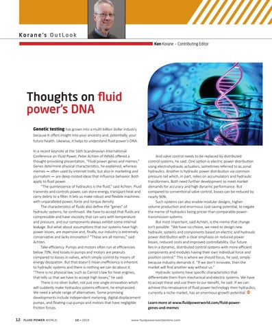 Page 14 of Thoughts on fluid power's DNA
