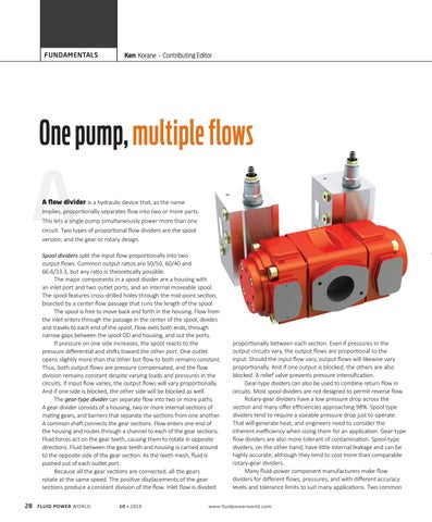 Page 30 of One pump, multiple flows