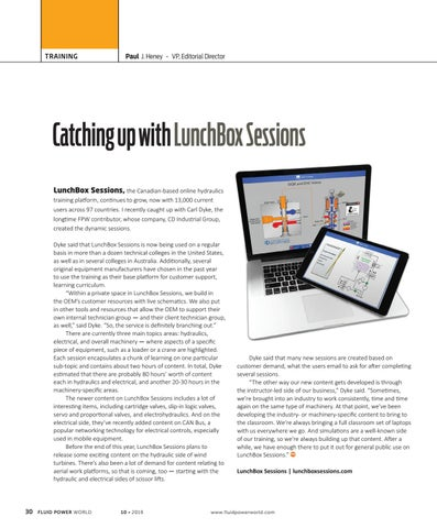 Page 32 of Catching up with LunchBox Sessions
