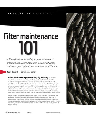 Page 46 of Filter maintenance 101