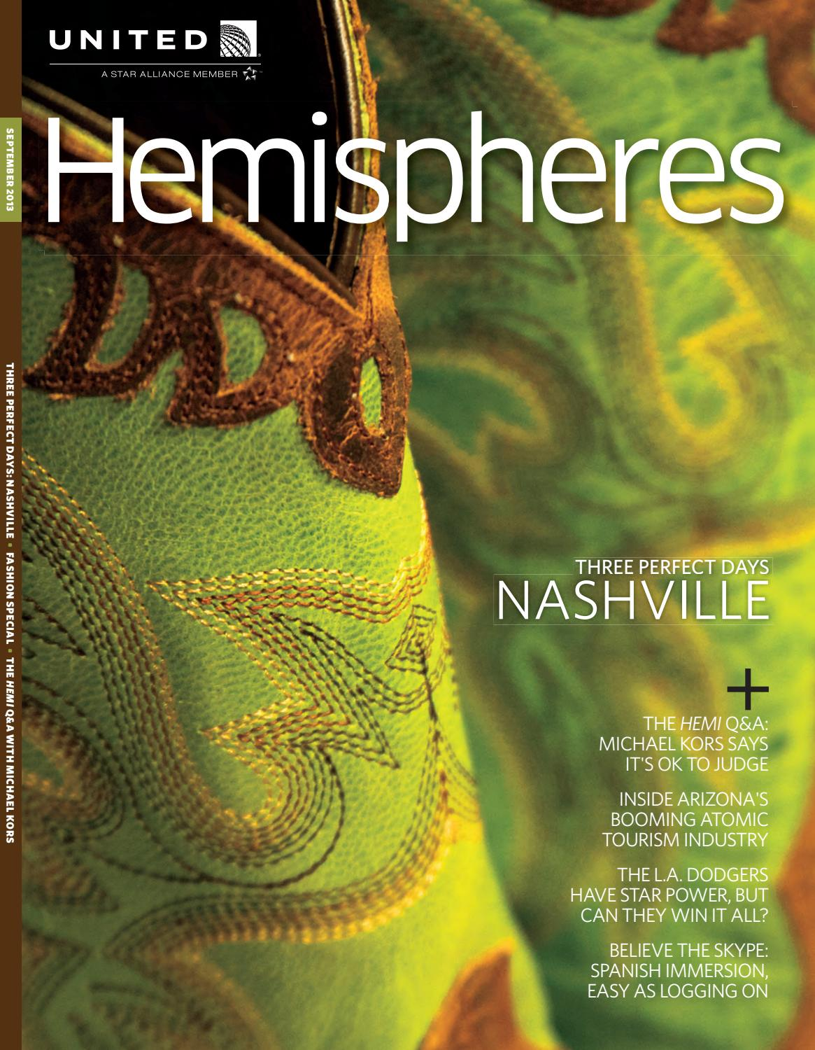 Brilliant United Airlines Hemispheres Magazine September 2013 By Ahmed Pabps2019 Chair Design Images Pabps2019Com