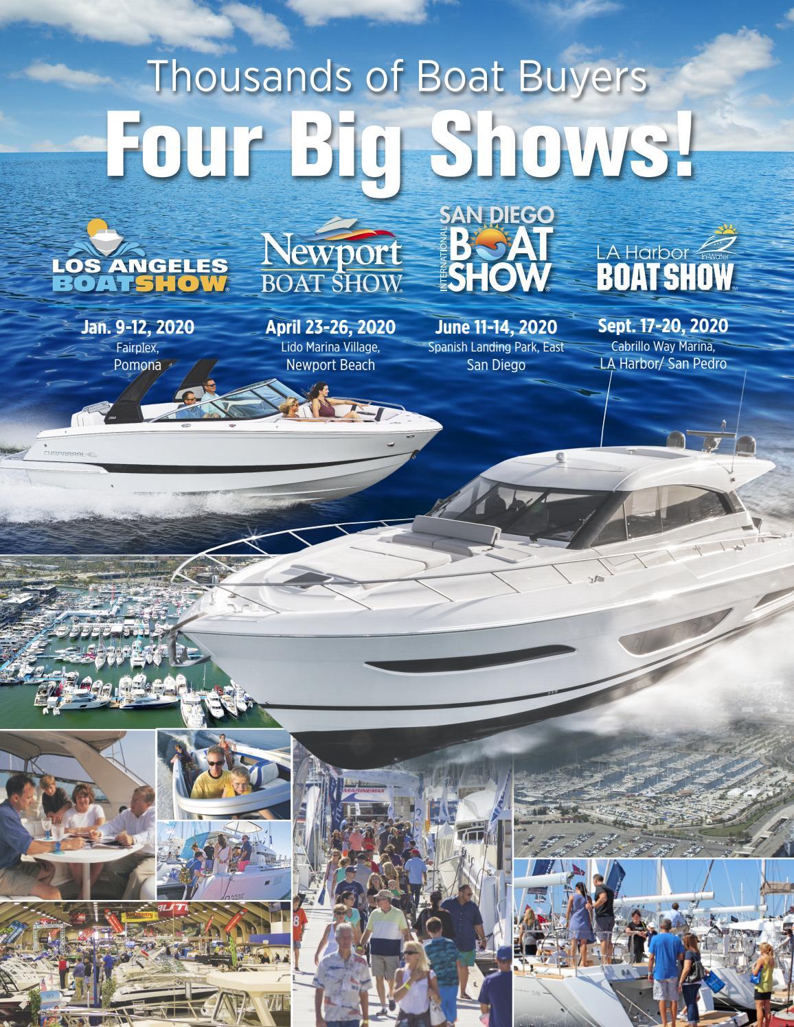 Pomona Fairplex Rv Show 2020.Four Big Shows La Newport Beach San Diego La Harbor