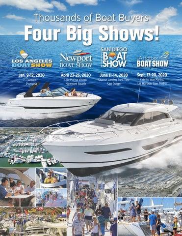 La Boat Show 2020.Four Big Shows La Newport Beach San Diego La Harbor