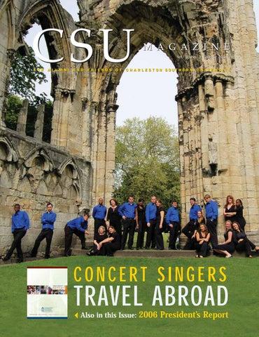 Csu Magazine Concert Singers Travel Abroad By Csumagazine