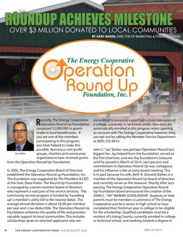 Page 4 of Operation Roundup Achieves Milestone