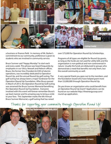 Page 5 of Operation Roundup Achieves Milestone