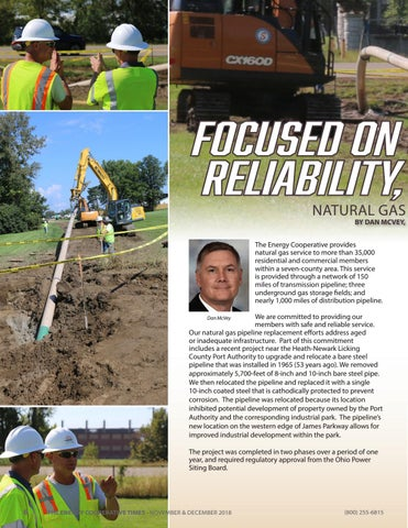 Page 6 of Focused on Safety, Reliability and Supply