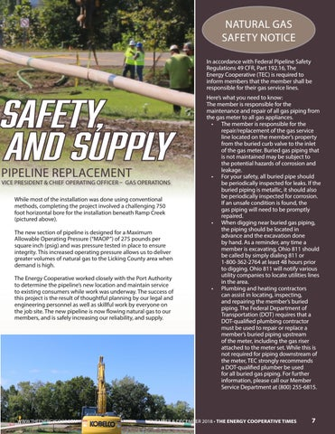 Page 7 of Focused on Safety, Reliability and Supply