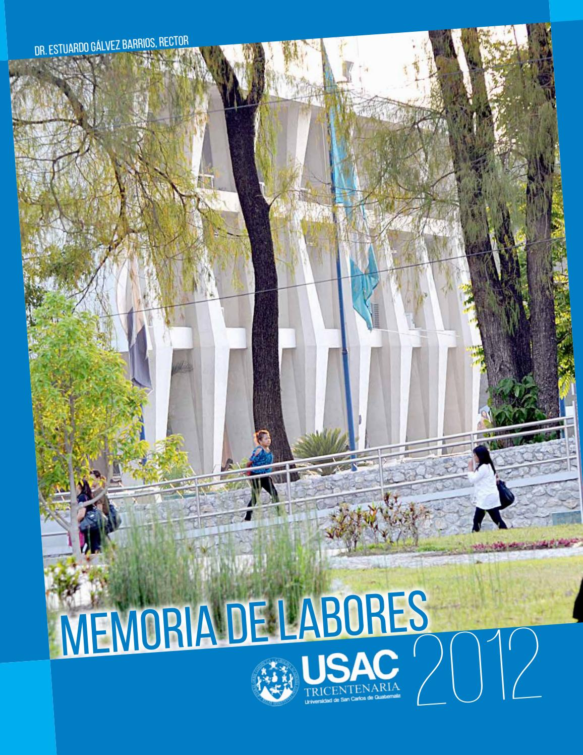 Memoria De Labores 2012 By Wilian Jose Issuu