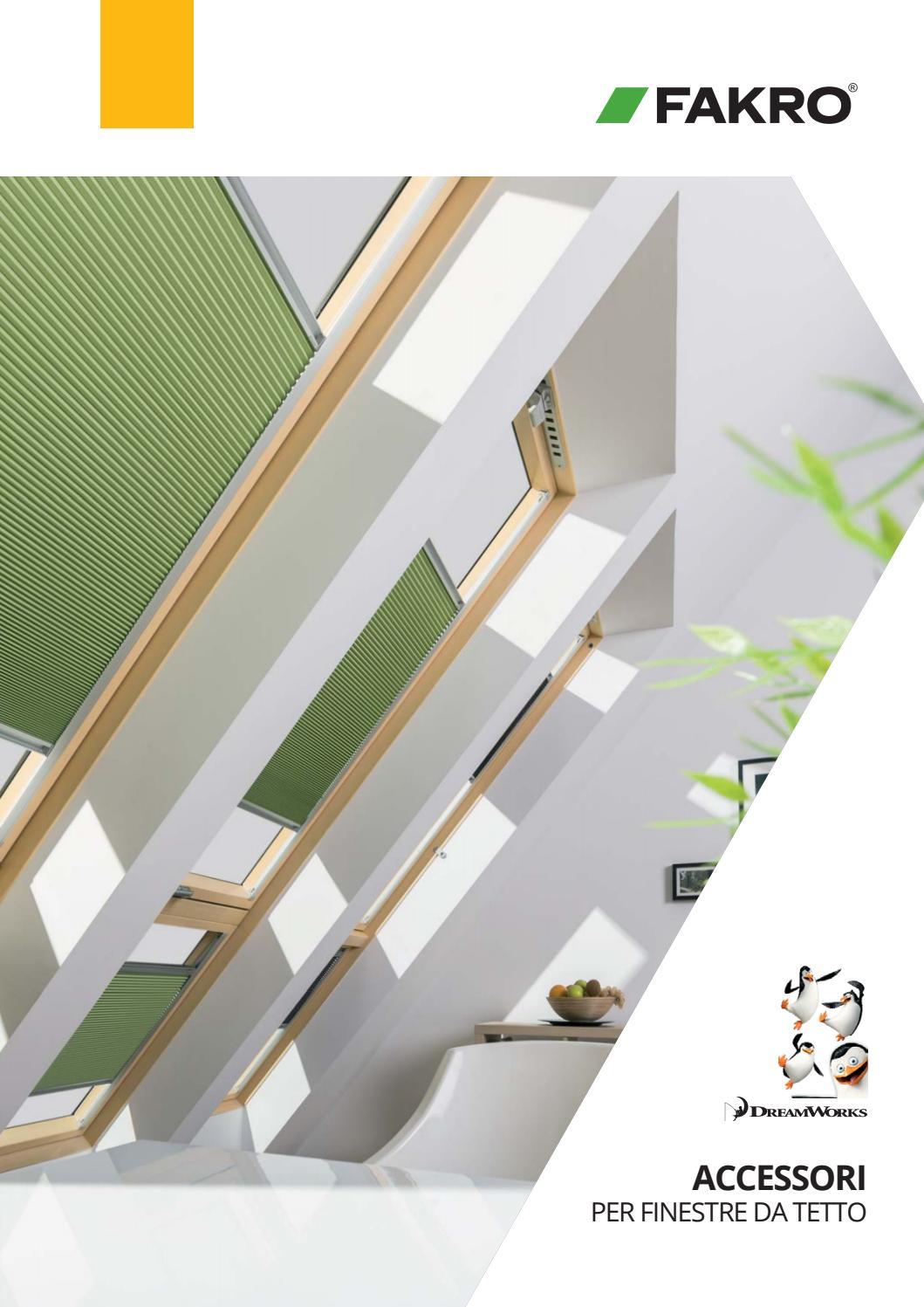 Sistema Di Oscuramento Per Finestre it accessori per finestre fakro by fakro - issuu