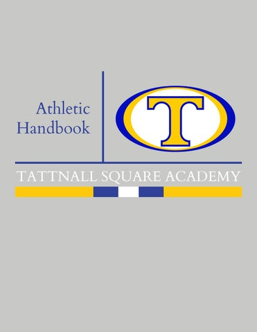 Tsa Competitive Events Guide 2020 Middle School.Tattnall Athletic Handbook 2019 2020 By Tattnall Square