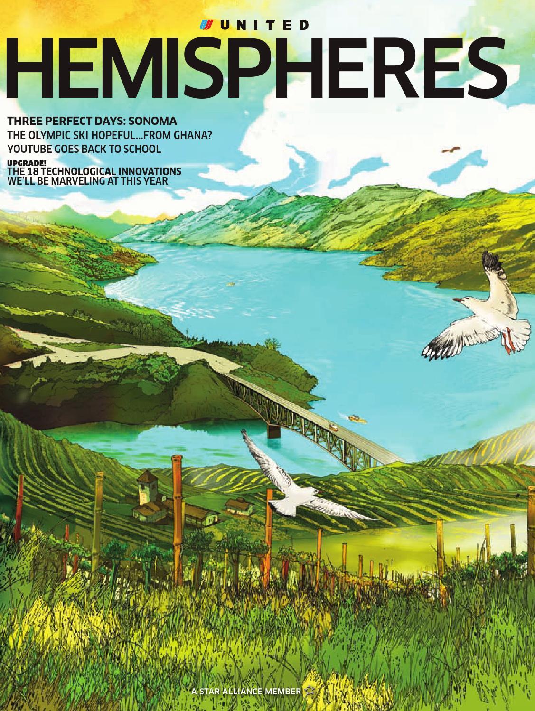United Airlines Hemispheres Magazine January 2010 By Ahmed Aamir
