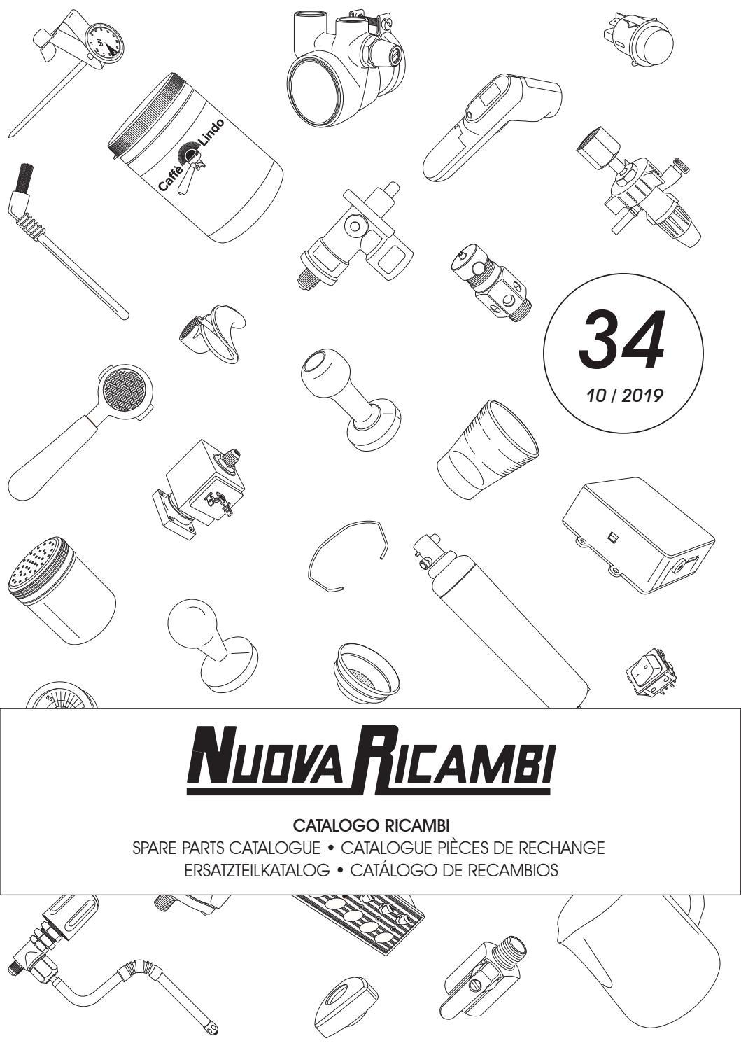 FAEMA//FIORENZATO C.S.//SCALA RUBINETTO VAPORE MACCHINA CAFFE