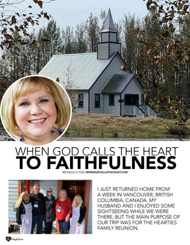 Page 32 of When God Calls the Heart to Faithfulness by Michelle S. Cox