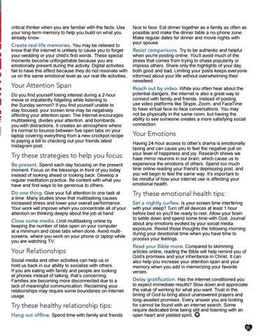Page 35 of Overcome Internet Brain Drain by Dr Saundra Dalton Smith