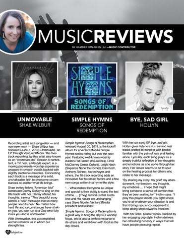 Page 38 of Music Reviews by Heather Van Allen