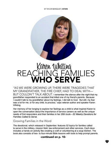 Page 9 of Karen Whiting: Reaching Families Who Serve