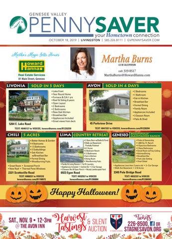 18+ Halloween Parties 2020 Daytona Beach Livingston Edition   Genesee Valley Penny Saver 10 18 2019 by