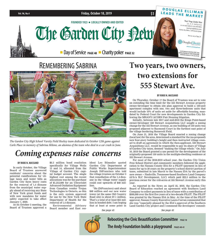 Tourney Machine Halloween Havoc Sachem 2020 The Garden City News (10/18/19) by Litmor Publishing   issuu