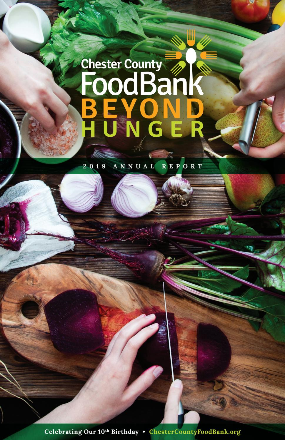 Chester County Food Bank 2019 Annual Report by Chester ...