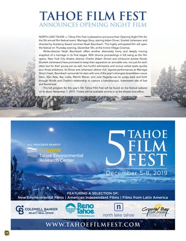 Page 14 of Tahoe Film Fest