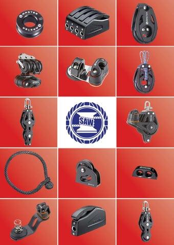 Mainsheet Pulley 【Master】72mm Single//Swivel//Becket Plain Bearing Block