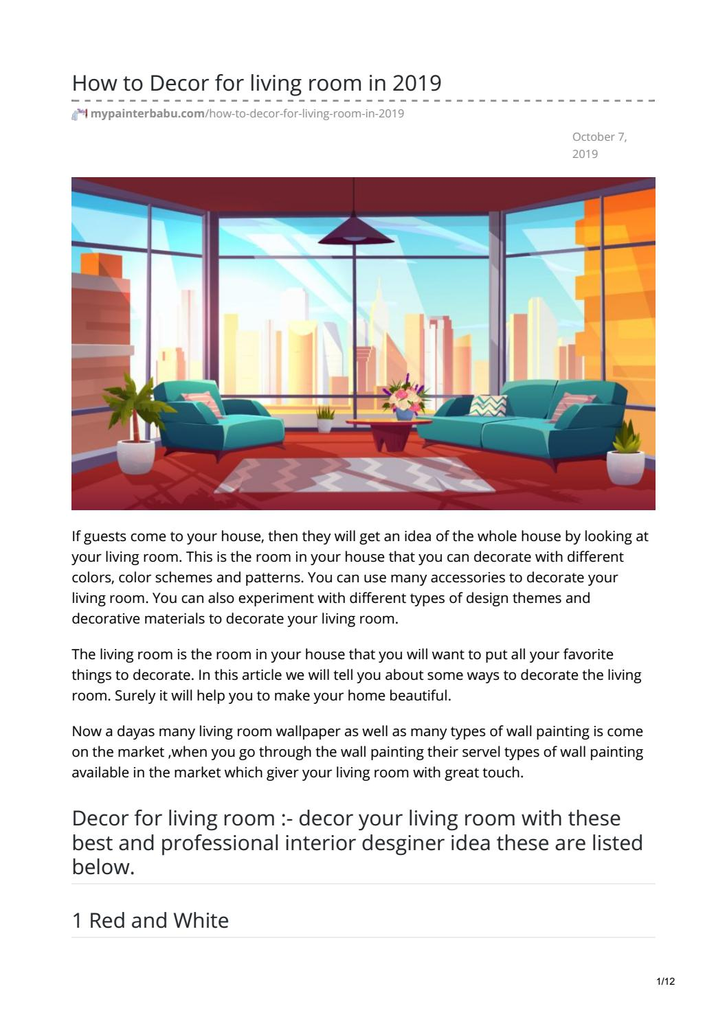 color in interior design pdf