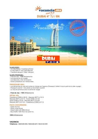 Vacancia promotion Dubai