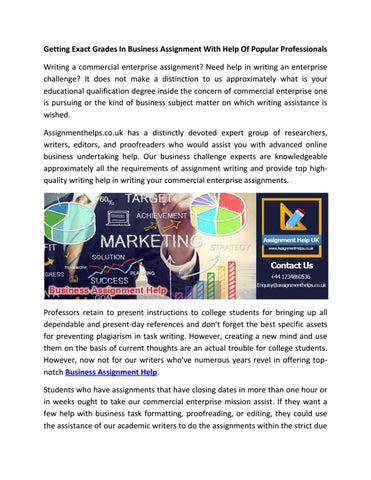 popular assignment editing sites uk