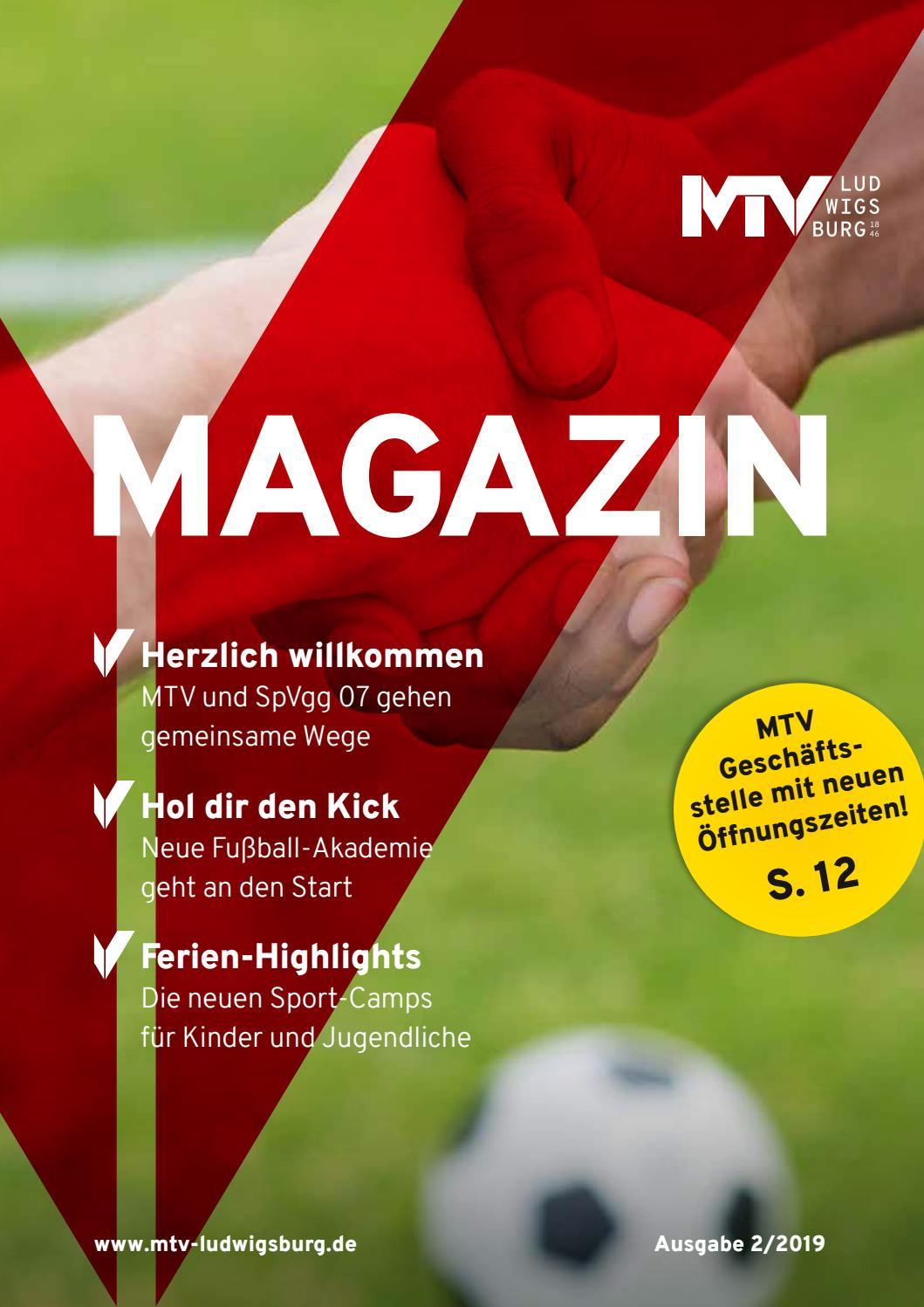 MTV Magazin 2019 2 by MTV Ludwigsburg issuu