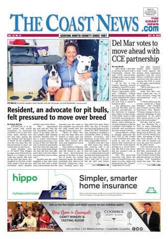 The Coast News October 18 2019 By Coast News Group Issuu