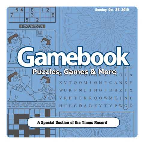 Book Of Puzzles October 2019 By Times Record Issuu