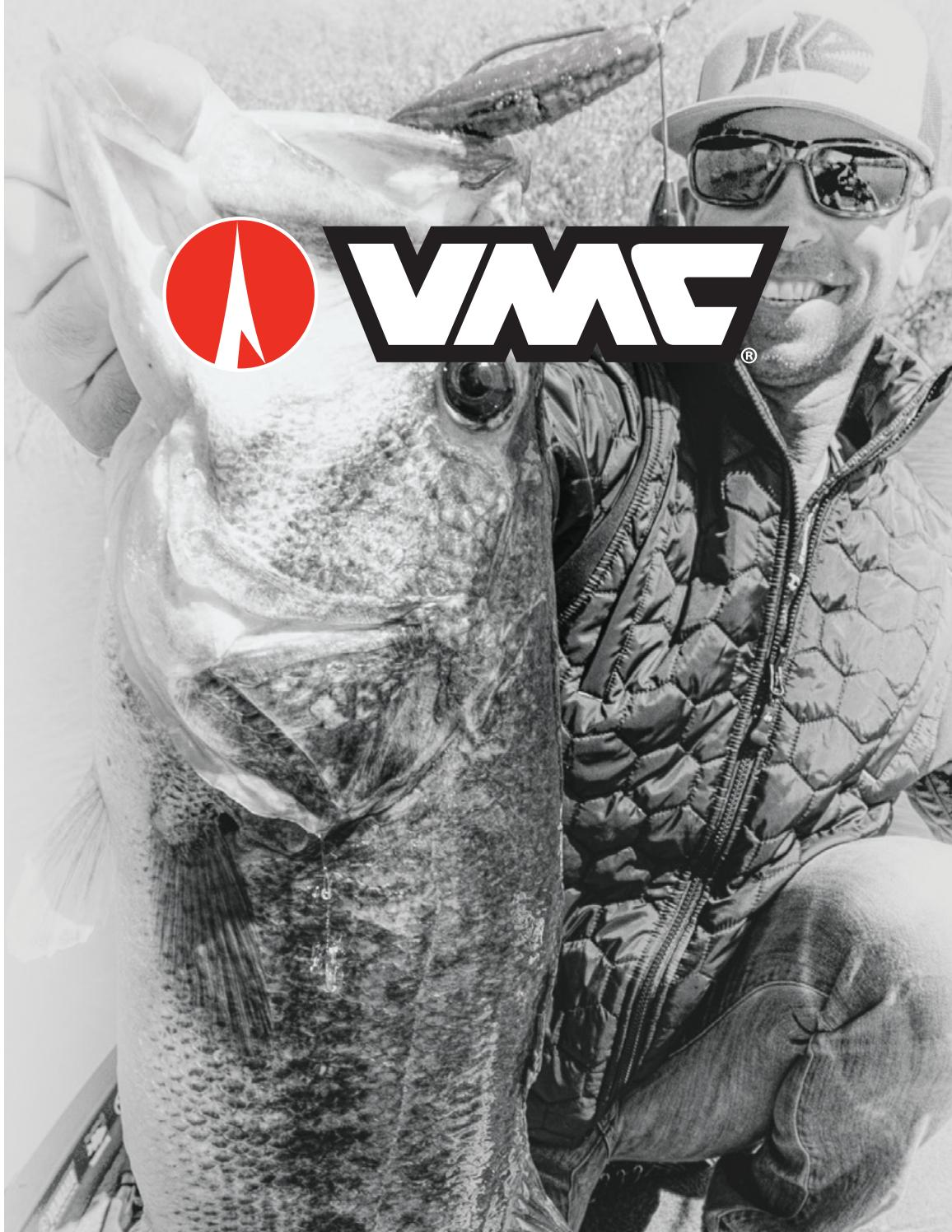 VMC ILS-20 In Line Hook Size 2//0-7 Pack Wide Gap X Strong Replacement Hooks