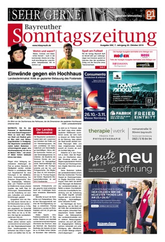 2019 10 20 Bayreuther Sonntagszeitung By Bayreuther