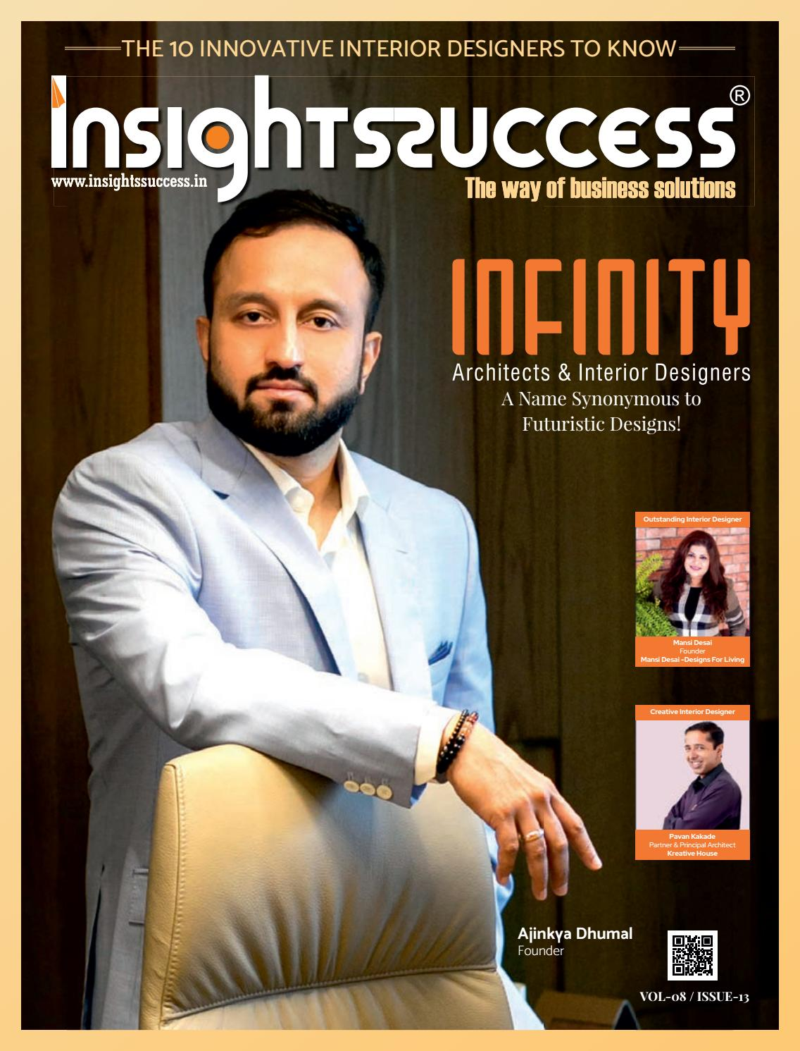 The 10 Innovative Interiors Designer To Know By Insights Success Media Issuu