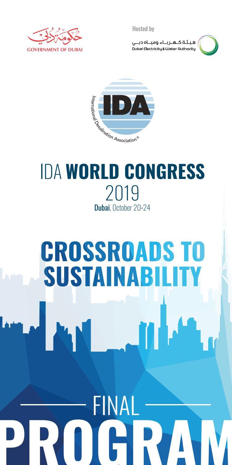 Final Program - IDA 2019 World Congress by International