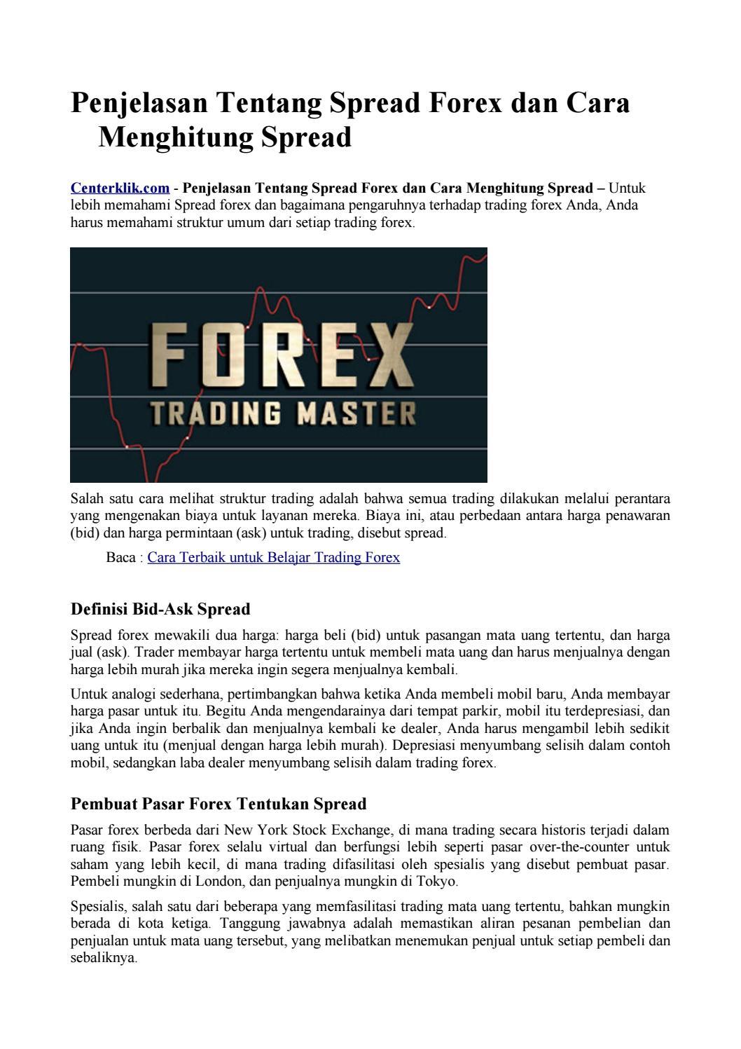 Bagaimana Cara Membaca Bid/Ask Forex ? | KASKUS