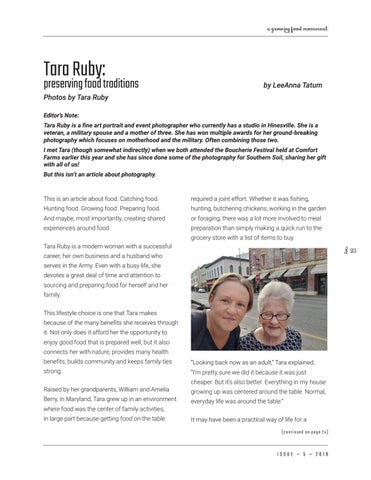 Page 23 of Tara Ruby: preserving food traditions